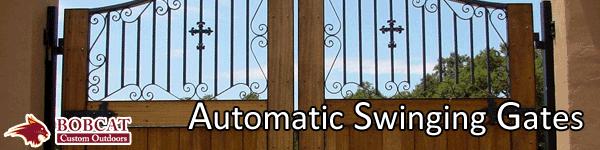automatic swinging gates