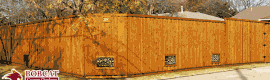 Cedar fence, 8 foot cedar fence, custom cedar fence