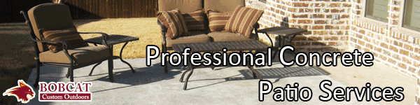 Concrete Patio Services, Allen Concrete Patio Services, Frisco Concrete Patio Services