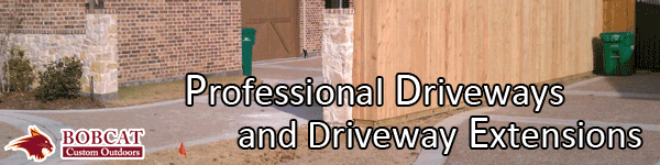 Professional driveways and driveway extensions, Frisco driveway extensions, allen  driveway extensions, mckinney  driveway extensions, prosper  driveway extensions, plano  driveway extensions, carrollton  driveway extensions