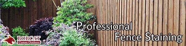 Professional Fence Staining, Frisco fence staining, allen fence staining, mckinney fence staining company