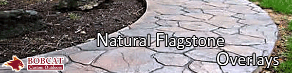 Natural Flagstone Overlays, Allen Natural Flagstone Overlays, Frisco Natural Flagstone Overlays, Wiley Natural Flagstone Overlays