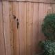 Reverse Opening Gate- #1 Cedar