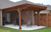 Custom Arbor with New Patio