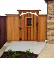 Custom Gate with New Patio Extnsion