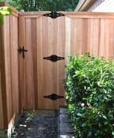 Custom Gate- Clear Cedar
