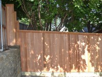 6' Side by Side fence with 1x4 Clear Cedar